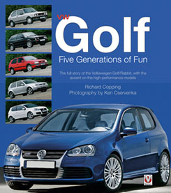 VW Golf - 5 Generations of fun Book