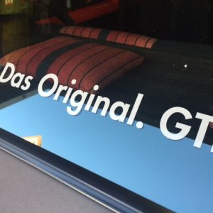 DAS Original. GTI Sticker