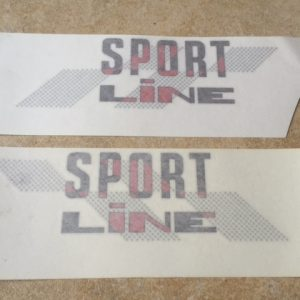 Sportline Decals - Red Car
