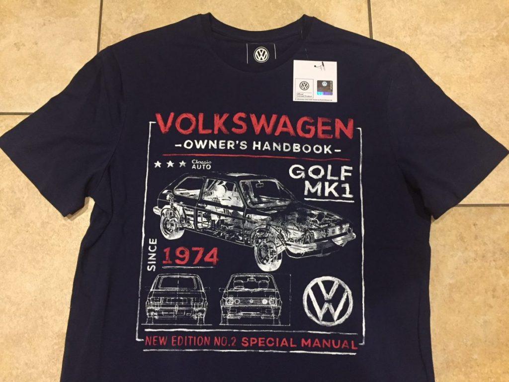 Tesco VW t-shirts