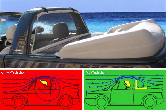 Bodi XLC - Wind Deflector Mk1 Golf Convertible