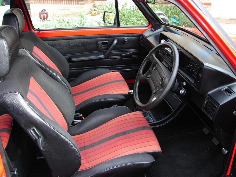 Interior Features Volkswagen Golf Gti Mk1 Campaign