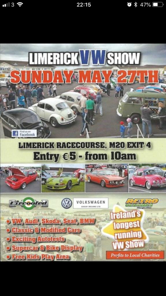 Limerick VAG Show