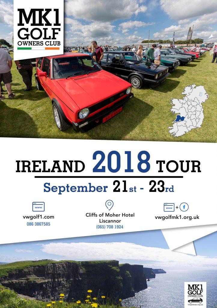 Ireland 2018 Tour