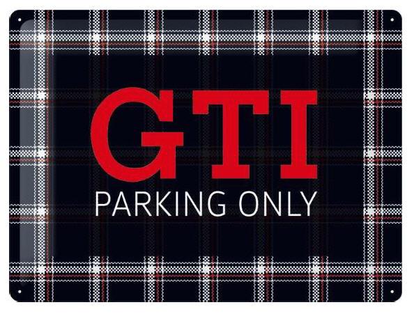 GTI Metal Signs