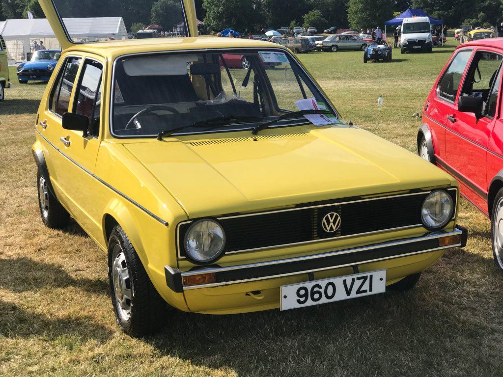 Mk1 Golf's @ Terenure Classic Car Show 2018