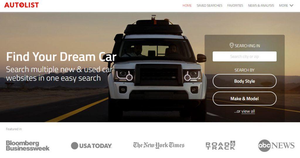 Autolist Website