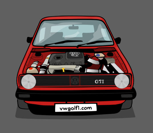 Mk1 Golf Artwork...