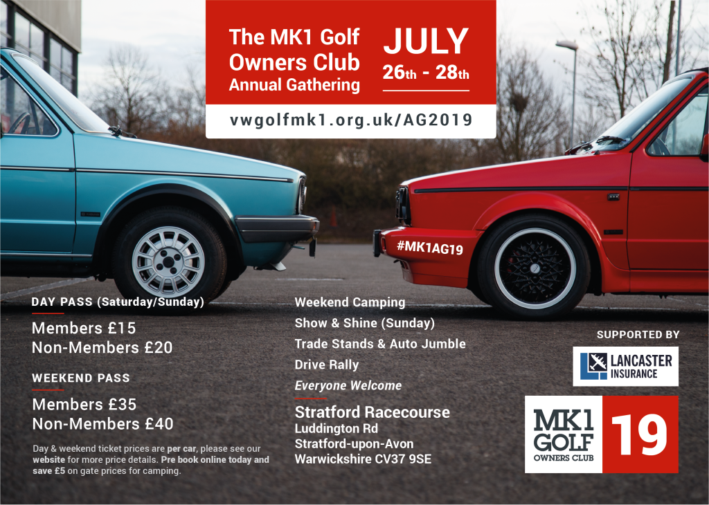 Mk1 Owners Club AGM - Stratford Upon Avon
