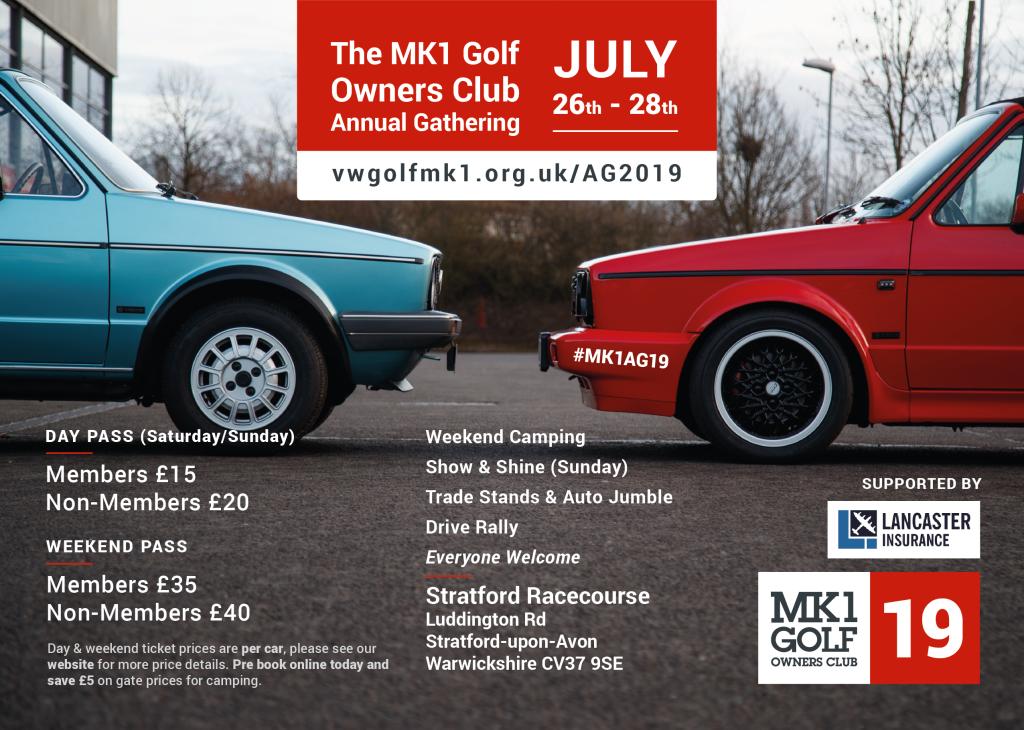 Mk1 Owners Club AGM - Stratford Upon Avon