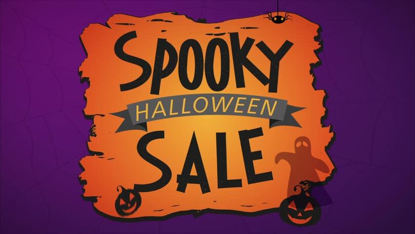 Spooky Halloween Sale