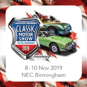 NEC Car Show this weekend