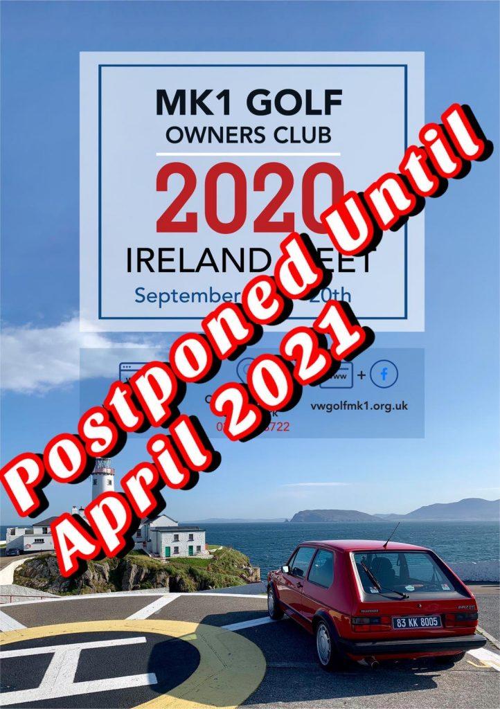Cork Tour 2020 - Postponed