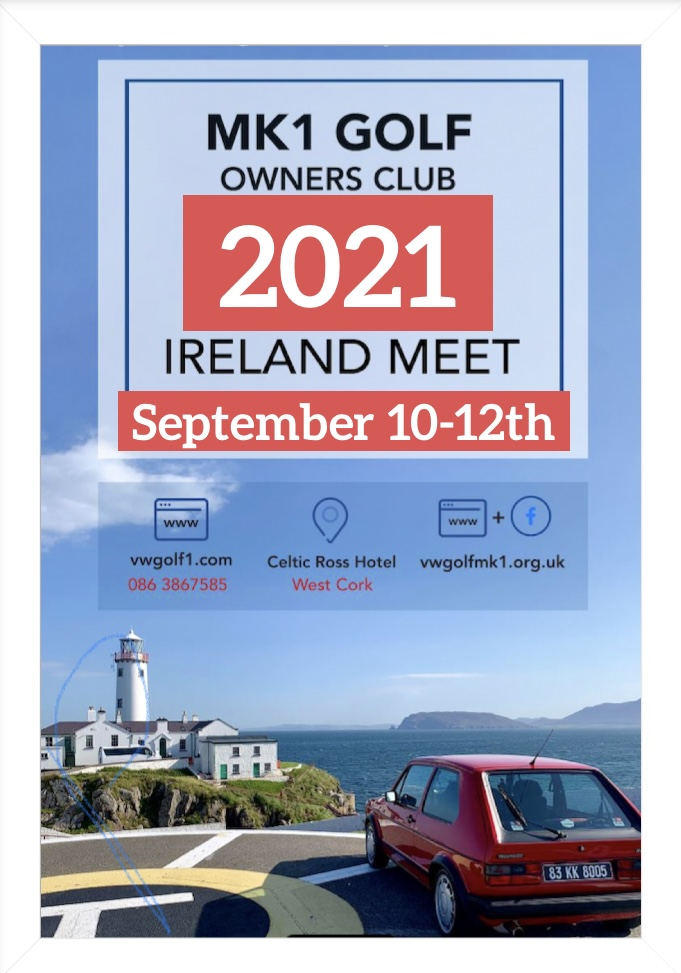 Cork Run now rescheduled to September 10-12th